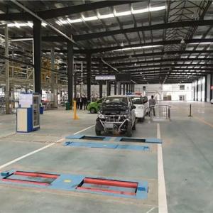 Automobile testing line